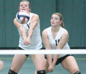 The County Line   Tigers top Panther volleyball 3–1 to ...